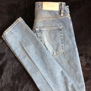 ACNE STUDIOS   Skinny blue jeans size 24